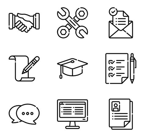 14191 resume icon transparent 19 resume icon packs vector icon packs svg psd png