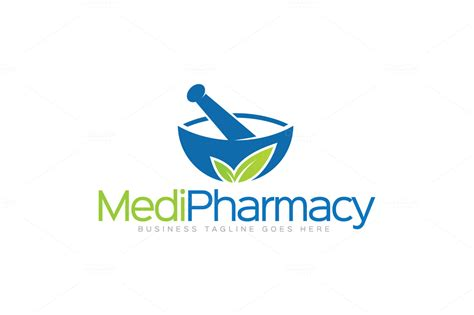Pharmacy Logo by Pharmacy Logo Logo Templates On Creative Market