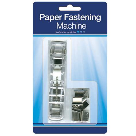 paper fastening machine clip binder kidz gifts