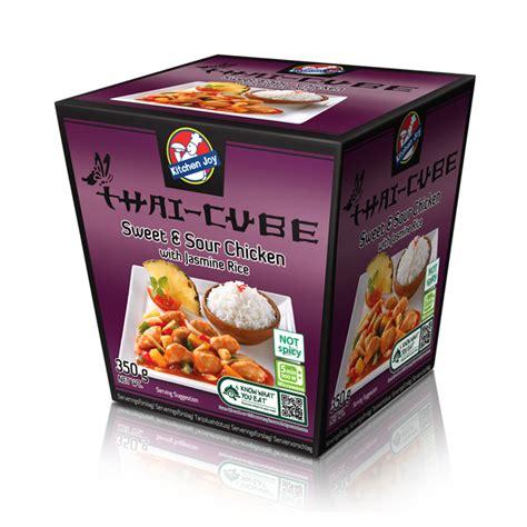 kitchen joy sweet sour chicken  jasmine rice lejos