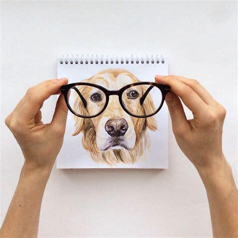 russian illustrator turns famous instagram dogs