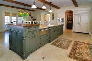 kitchens with two islands 72 luxurious custom kitchen island designs