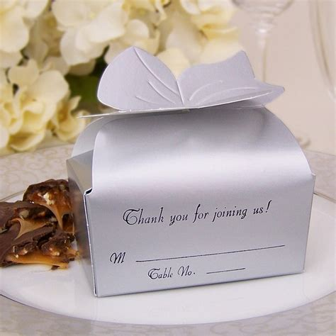 personalized bow top favor boxes