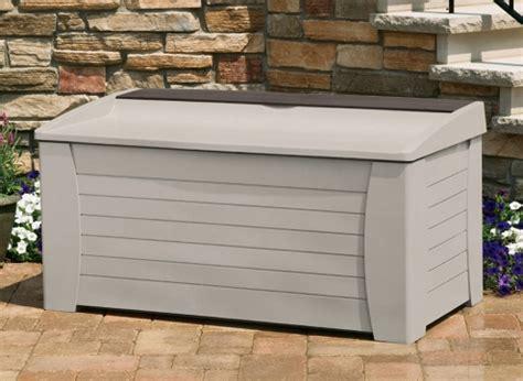 suncast deck box 127 gallon sterilite 3 drawer weave storage tower 13 50