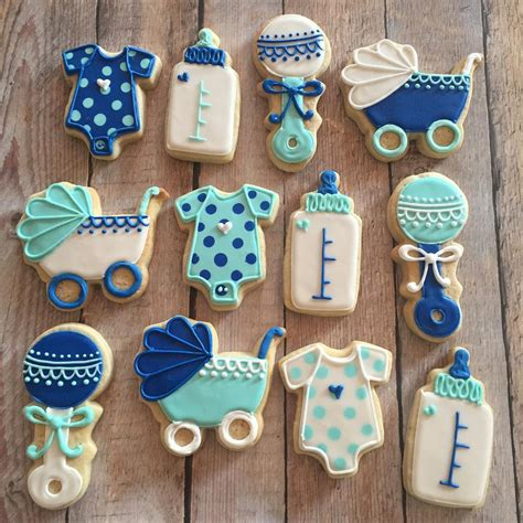 Baby Shower Boy by Classic Boy Baby Shower Cookies Hayley Cakes And