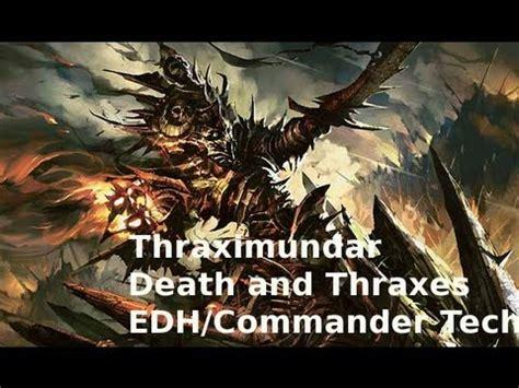 Thraximundar Blue Black Edh Deck by Thraximundar And Thraxes Edh Commander Deck Tech