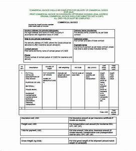 Quotations Samples In Word Format Commercial Invoice Templates 10 Free Word Excel Pdf