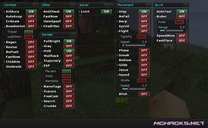 Flare Hacked Client Download For Minecraft 1710