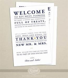 wedding hotel welcome bag letter wedding welcome bag note With welcome letter for hotel guests wedding