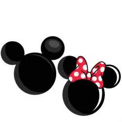 Mickey and Minnie Mouse Heads