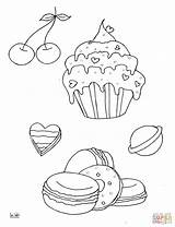 Muffins Jawar Desery Drukuj sketch template