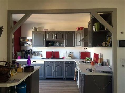 Cuisine Relookée Avant Apres Comment Faire Du Home Staging