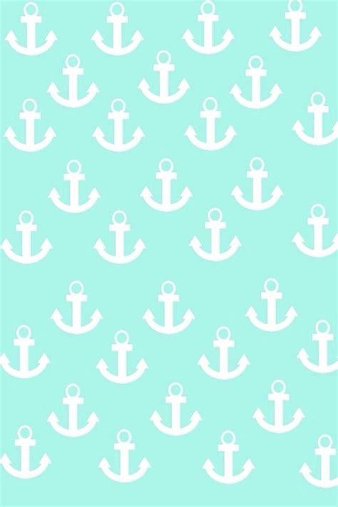 Anchor Mint Green  Cute Phone Wallpaper Pinterest