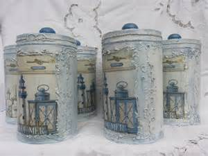 Unique Kitchen Canister Sets Kitchen Canisters Canisters Canister Set By Cottagevintageshabby
