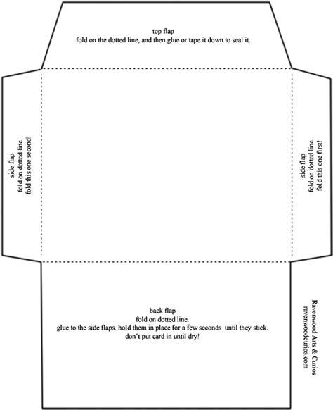 envelope template standard envelope template