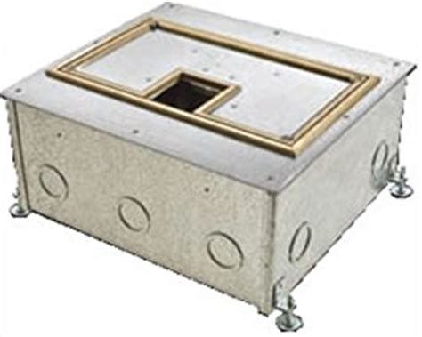 hubbell floor boxes for wooden floors hubbell wiring systems cfb11g4 11 recessed concrete