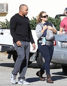 CaCee Cobb and Donald Faison take son Rocco to pick out a ...