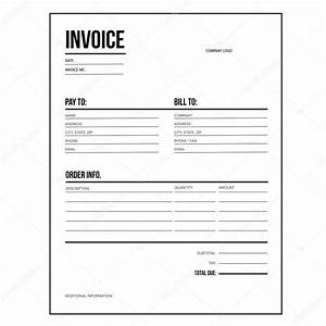 Rechnung Jahrespreis Karte : rechnung business template brief usa standardpapier stockvektor 118071766 ~ Themetempest.com Abrechnung