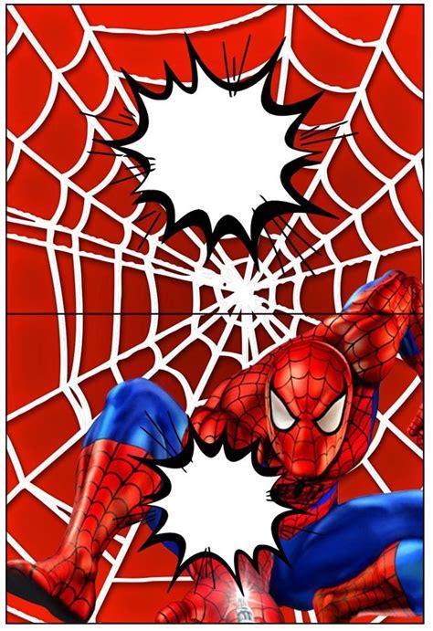 spiderman etiquetas  candy bar  imprimir gratis