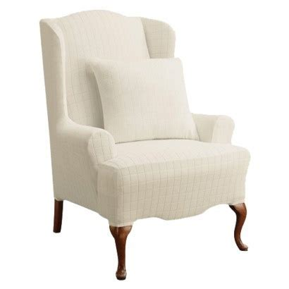 wingback chair slipcovers wingback slipcover furniture