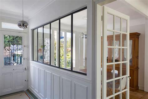 cuisine atelier d artiste créer une verrière pour une entrée de maison ou un couloir d 39 appartement