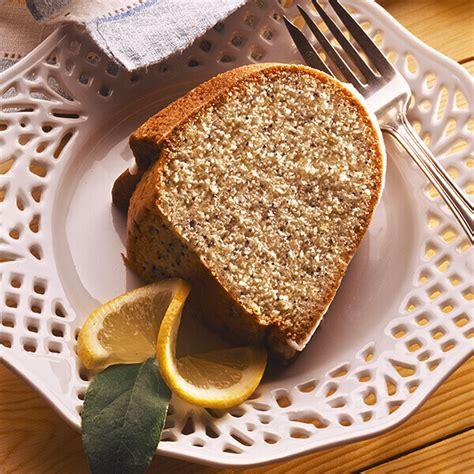 lemon poppy seed pound cake recipe land olakes