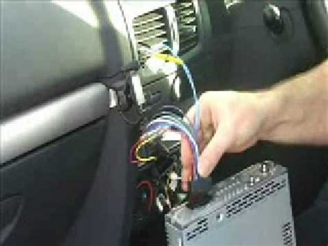install  sony cdx gtu car stereo youtube