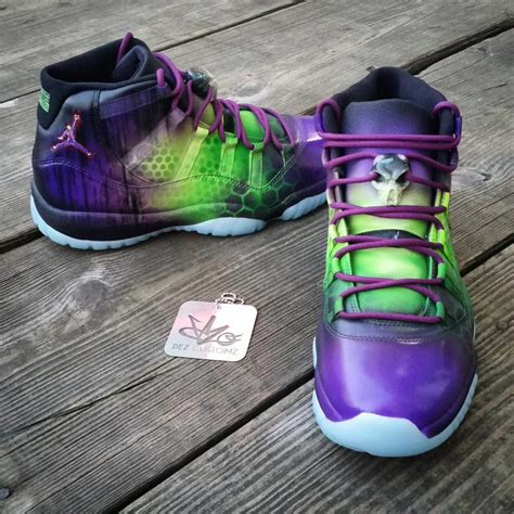 jordan custom air joker xi customs dez