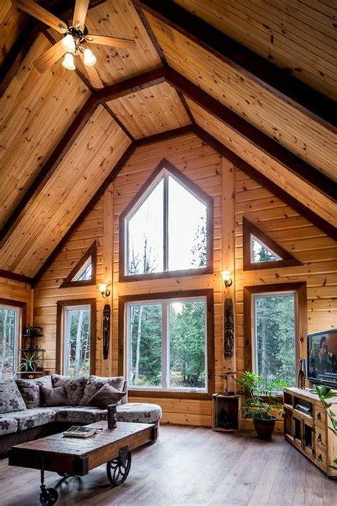 creer sa chambre quel type d intérieur pour votre chalet en bois habitable
