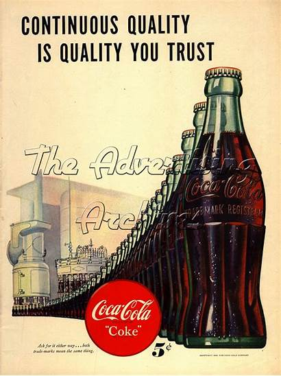 Cola Coca Drinks Advertising Adverts Thirsty Popular