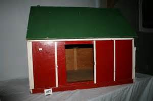 Wooden Barn Toy Boxes