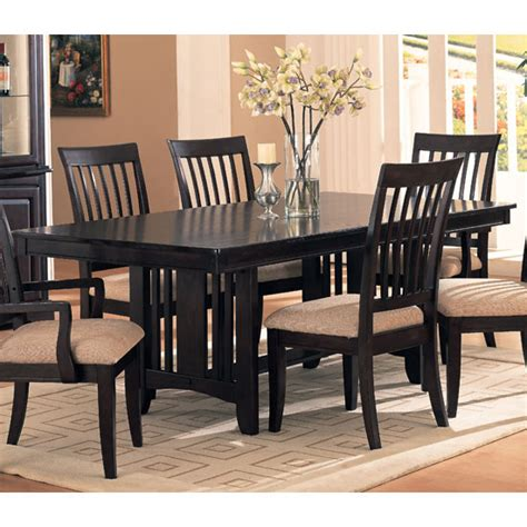 beautiful black dining set  black dining room table sets