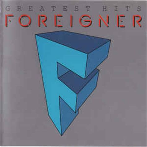 Foreigner  Greatest Hits  The Very Best Of Foreigner (cd