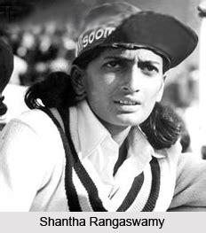 shantha rangaswamy indian woman cricketer