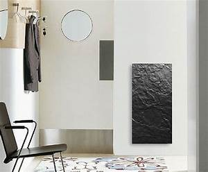 Radiateur Electrique Decoratif : radiateur inertie de qualit en ardoise noir ~ Melissatoandfro.com Idées de Décoration