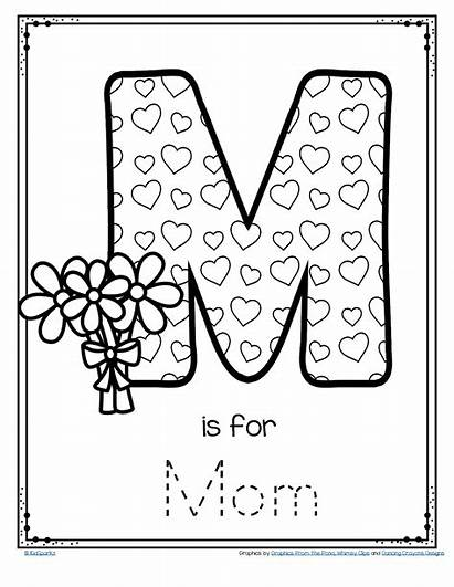 Mother Trace Poster Preschool Mothers Mom Card