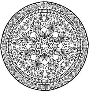 Dover Mandala Coloring Pages