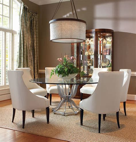 Dining Room: outstanding formal glass dining room sets