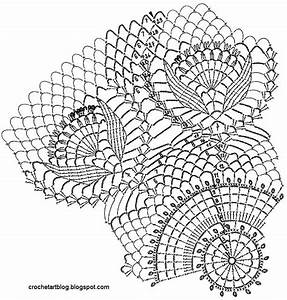 Crochet Large Square Doily Patterns
