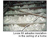 identify asbestos   home avoid exposure