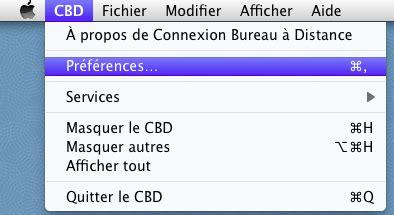 bureau distant mac bureau à distance ou remote desktop contrôle à distance