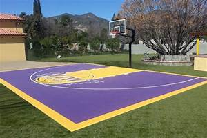 versacourt indoor outdoor backyard basketball courts With outdoor basketball court template