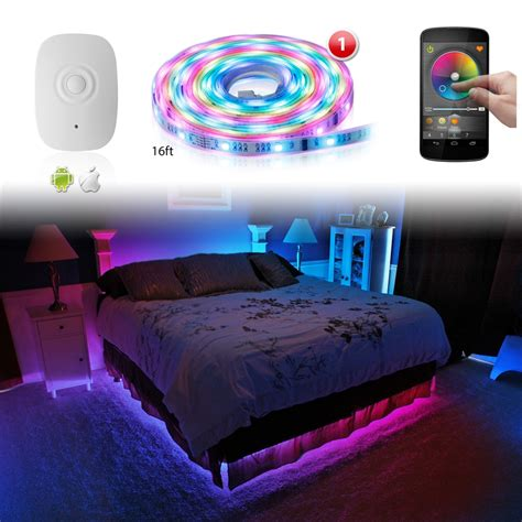 led home interior lights xkglow xk silver app wifi controlled home interior