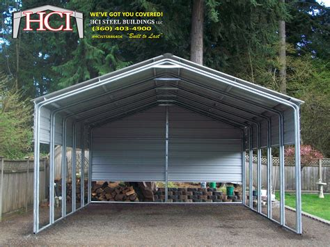 3 Car Metal Carport by Metal Carports