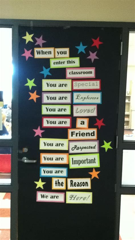 Decorating Ideas With Quotes by The 25 Best Classroom Door Quotes Ideas On