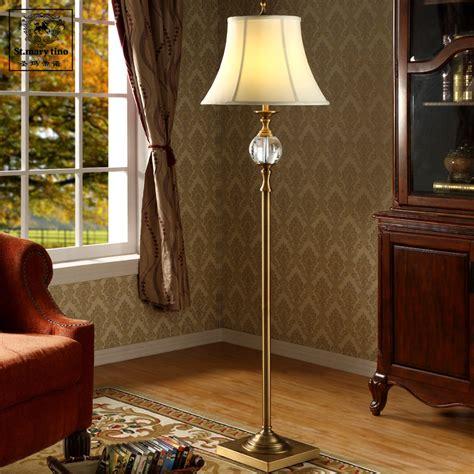 standing lights for bedroom nordic american minimalist retro crystal floor l living