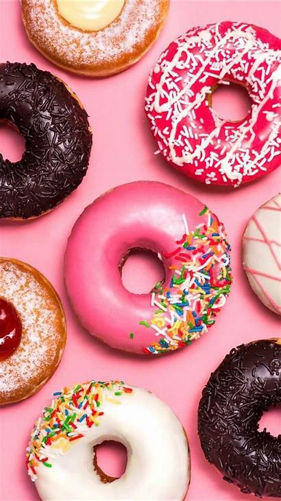 Donuts Dunkin Wallpapers Iphone Delicious Fondo Backgrounds