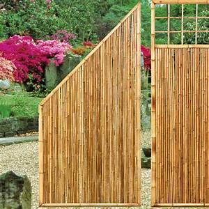 Sichtschutz Terrasse Bambus : sichtschutzwand bambus zen abschlusselement sichtschutz ~ Markanthonyermac.com Haus und Dekorationen