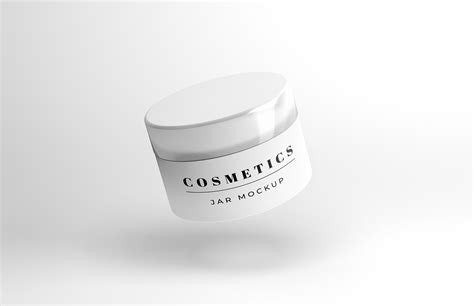 Discover 100+ cosmetic mockup designs on dribbble. Floating Cosmetics Jar Mockup - Free Download