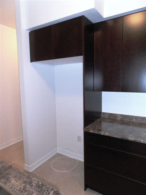 deep cabinet  fridge   deep side gable